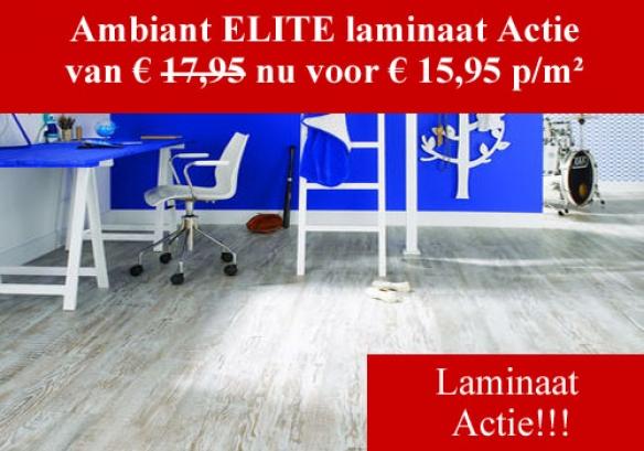 Elite Laminaat actie