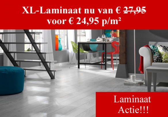 XL-Laminaat Actie!